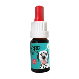 Zelená Země CBD olej pro zvířata 10% - 10 ml