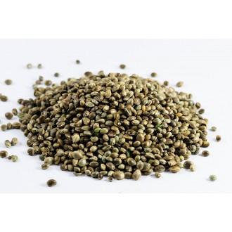 Zelená Země Konopné semínko neloupané BIO - 1000g