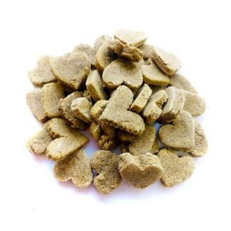 Zelená Země Konopný pamlsek pro psy / kuřecí příchuť - 100g